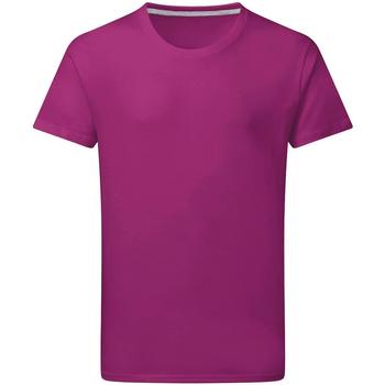 textil Herre T-shirts m. korte ærmer Sg Perfect Dark Pink