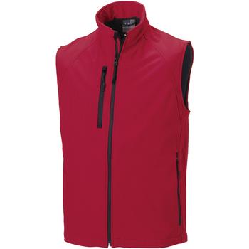 textil Herre Jakker Russell Soft Shell Classic Red