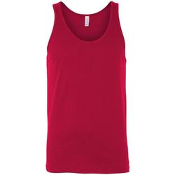 textil Dame Toppe / T-shirts uden ærmer Bella + Canvas CA3480 Red