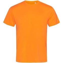 textil Herre T-shirts m. korte ærmer Stedman  Cyber Orange