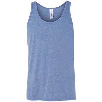 textil Dame Toppe / T-shirts uden ærmer Bella + Canvas CA3480 Blue Triblend