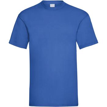 textil Herre T-shirts m. korte ærmer Universal Textiles 61036 Cobalt