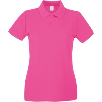 textil Dame Polo-t-shirts m. korte ærmer Universal Textiles 63030 Hot Pink