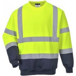 textil Herre Sweatshirts Portwest PW668 Yellow/Navy