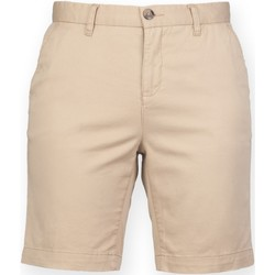textil Dame Shorts Front Row FR606 Stone
