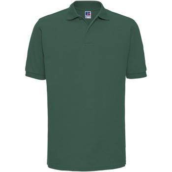 textil Herre Polo-t-shirts m. korte ærmer Russell Ripple Bottle Green