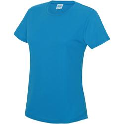 textil Dame T-shirts m. korte ærmer Awdis JC005 Sapphire Blue