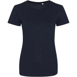 textil Dame T-shirts m. korte ærmer Awdis JT01F Solid Navy