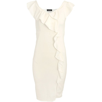 textil Dame Korte kjoler Girls On Film  White