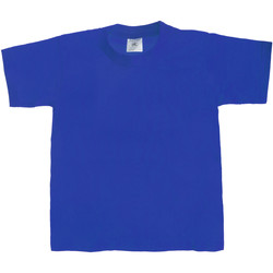 textil Børn T-shirts m. korte ærmer B And C Exact 190 Royal