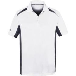 textil Herre Polo-t-shirts m. korte ærmer Stormtech ST955 White/Navy