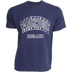 textil Herre T-shirts m. korte ærmer Cambridge University  Navy