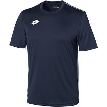 textil Børn T-shirts m. korte ærmer Lotto LT26B Navy/White