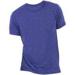 textil Herre T-shirts m. korte ærmer Bella + Canvas CA3413 Navy Triblend