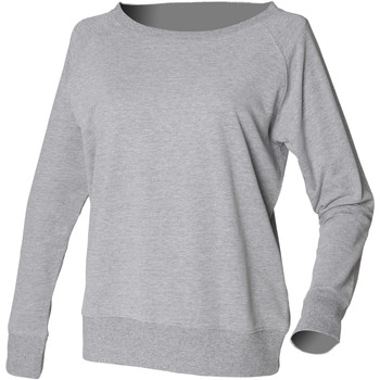 textil Dame Sweatshirts Skinni Fit SK513 Heather Grey
