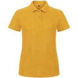 textil Dame Polo-t-shirts m. korte ærmer B And C ID.001 Chilli Gold