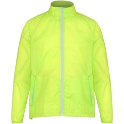 textil Herre Vindjakker 2786  Yellow/ White