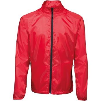 textil Herre Vindjakker 2786  Red/ Black