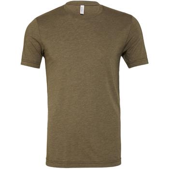 textil Herre T-shirts m. korte ærmer Bella + Canvas CA3413 Olive Triblend