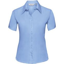 textil Dame Skjorter / Skjortebluser Russell 957F Bright Sky