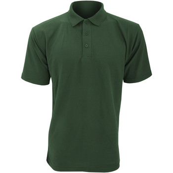 textil Herre Polo-t-shirts m. korte ærmer Ultimate Clothing Collection UCC003 Bottle Green