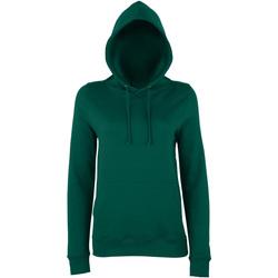 textil Dame Sweatshirts Awdis Girlie Bottle Green