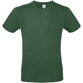 textil Herre T-shirts m. korte ærmer B And C TU01T Bottle Green