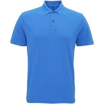 textil Herre Polo-t-shirts m. korte ærmer Asquith & Fox AQ017 Palace Blue