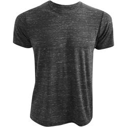 textil T-shirts m. korte ærmer Bella + Canvas CA3650 Charcoal Marble