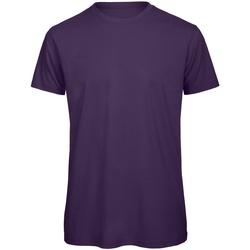 textil Herre T-shirts m. korte ærmer B And C TM042 Urban Purple