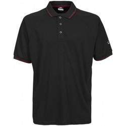 textil Herre Polo-t-shirts m. korte ærmer Trespass Bonington Black/Red