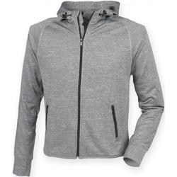 textil Herre Sweatshirts Tombo Teamsport TL550 Grey Marl