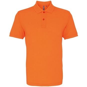 textil Herre Polo-t-shirts m. korte ærmer Asquith & Fox AQ010 Neon Orange