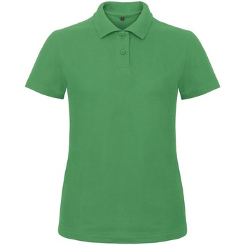 textil Dame Polo-t-shirts m. korte ærmer B And C ID.001 Kelly Green