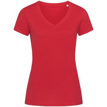 textil Dame T-shirts m. korte ærmer Stedman Stars Janet Pepper Red