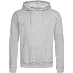 textil Herre Sweatshirts Stedman  Heather Grey