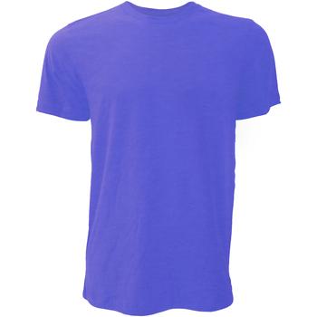 textil Herre T-shirts m. korte ærmer Bella + Canvas CA3001 Heather Navy