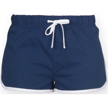 textil Dame Shorts Skinni Fit SK069 Navy/ White