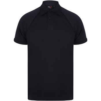 textil Herre Polo-t-shirts m. korte ærmer Finden & Hales Piped Navy/Navy