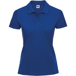 textil Dame Polo-t-shirts m. korte ærmer Russell 569F Bright Royal