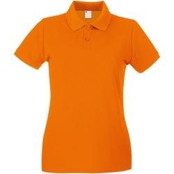 textil Dame Polo-t-shirts m. korte ærmer Universal Textiles 63030 Bright Orange