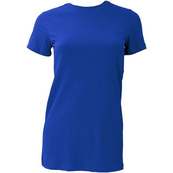 textil Dame T-shirts m. korte ærmer Bella + Canvas BE6004 True Royal