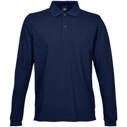 textil Herre Polo-t-shirts m. lange ærmer Tee Jays TJ1406 Navy Blue