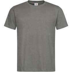 textil Herre T-shirts m. korte ærmer Stedman Stars  Real Grey