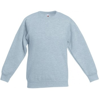 textil Børn Sweatshirts Fruit Of The Loom SS801 Heather Grey
