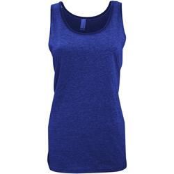 textil Dame Toppe / T-shirts uden ærmer Bella + Canvas CA3480 Heather Navy Blue