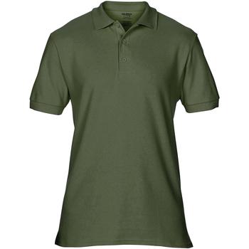 textil Herre Polo-t-shirts m. korte ærmer Gildan Premium Military Green
