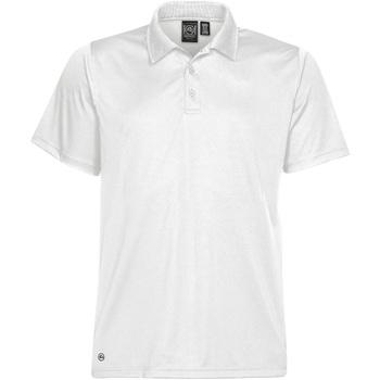 textil Herre Polo-t-shirts m. korte ærmer Stormtech Eclipse White