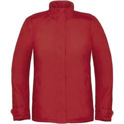 textil Dame Vindjakker B And C Real+ Deep Red