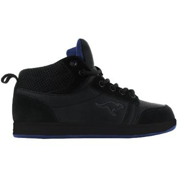 Sko Børn Høje sneakers Kangaroos  Black/Black/Royal